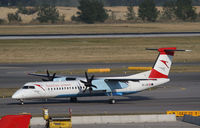 OE-LGD @ LOWW - Austrian Arrows DHC 8 - by Thomas Ranner
