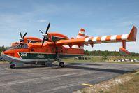 C-FIZU @ CYDF - Goverment of Newfoundland and Labrador CL415 - by Andy Graf-VAP