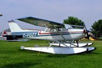 C-FQZT @ CNJ4 - Seen here at Orillia Ontario~C - by Ray Barber