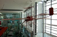 BAPC047 - Off airport. Robin Goch on display at the National Waterfront Museum, Swansea, Wales, UK - by Roger Winser