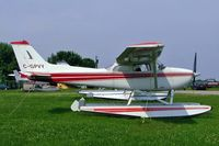 C-GPVY @ CNJ4 - Seen here at Orillia float plane base Ontario~C. - by Ray Barber