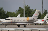 9A-CRO @ LOWW - Croatia Government Challenger 604 - by Thomas Ranner