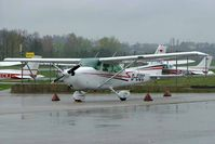 D-EIZC @ EDMA - Seen here in pouring rain. - by Ray Barber
