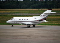 CS-DRP @ EDDT - Hawker 800XP at Berlin Tegel - by moxy