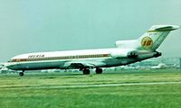 EC-CAI @ EGLL - Boeing 727-256 [20592] (Iberia) Heathrow~G 01/07/1977. Taken from a slide.