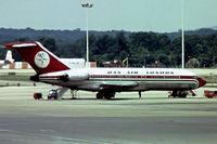 G-BAJW @ EGKK - Boeing 727-46 [18878] (Dan-Air London) Gatwick~G 01/07/1974. Image taken from a slide.
