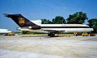 N930UP @ LOWW - Boeing 727-22C [19096] (UPS) Vienna~OE 20/06/1996. Seen here.