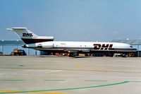 N12305 @ LIRP - Boeing 727-231F [19562] (DHL) Pisa~I 13/09/1999. Seen here.