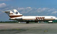 OO-DHR @ EIDW - Boeing 727-35(F) [19834] (European Air Transport/DHL) Dublin~EI 15/05/1997. Seen here.