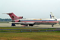 PK-JGM @ WIII - Boeing 727-223 [21519] (Jatayu Airlines) Jakarta-Soekarno Hatta Int~PK 26/10/2006. Seen Here.