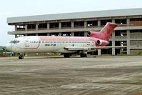 PK-JGN @ WIII - Boeing 727-223 [21384] (Jatayu Airlines) Jakarta-Soekarno Hatta Int~PK 26/10/2006. Seen stored here.