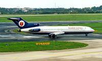 TC-AFO @ EDDL - Boeing 727-230 [21620] (Istanbul Airlines) Dusseldorf~D 23/05/1998. Seen here.