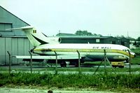 TZ-ADR @ EGSS - Boeing 727-173C [19509] (Air Mali Int) Stansted~G 01/08/1975. Seen here .Now preserved as N199FE.