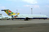 ZS-NOU @ FAJS - Boeing 727-230 [21113] (Safair) Johannesburg Int/Jan Smuts~ZS 09/10/2003. Seen here now broken up.