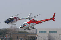 C-FNZZ @ GPM - At Grand Prairie Municipal - Photo shoot for Heli Expo 2012 - by Zane Adams
