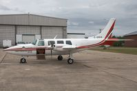 C-GRIK @ CYCH - Forest Protection Limited Piper 60 - by Andy Graf-VAP