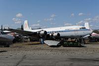 N3047V @ PAFA - Conifair aviation DC6