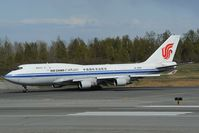 B-2455 @ PANC - Air China Boeing 747-400 - by Dietmar Schreiber - VAP