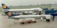 D-ABKR @ EDDL - Lufthansa, Boeing 727-230, CN: 21621/1425, Name: Bielefeld - by Air-Micha