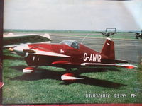 G-AWIR @ EGBN - taken at Tollerton at one of there displays ..   photo taken of a print - by Ken Sword