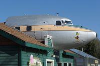 N999SQ @ PAFA - Douglas DC6