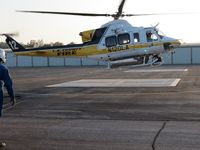 N120LA @ POC - Moving ovr to refuel after Copter 10 departed - by Helicopterfriend