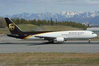 N307UP @ PANC - UPS Boeing 767-300