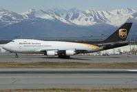 N576UP @ PANC - UPS Boeing 747-400