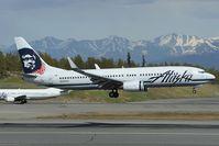 N590AS @ PANC - Alaska Airlines Boeing 737-800