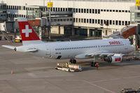 HB-IJS @ DUS - SWR1027 Dusseldorf to Zurich (ZRH) - by Loetsch Andreas