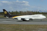 N583UP @ PANC - UPS Boeing 747-400