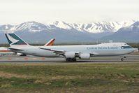 B-LJG @ PANC - Cathay Pacific Boeing 747-8