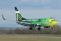N607AS @ PANC - Alaska Airlines boeing 737-700