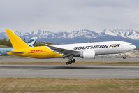 N777SA @ PANC - Southern Air Boeing 777-200