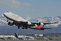 HL7413 @ PANC - Asiana Boeing 747-400