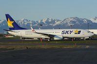 JA73NP @ PANC - Sky Boeing 737-800