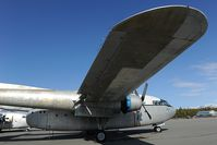 N8501W @ PAAQ - C119 Flying Boxcar