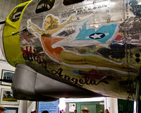 44-85778 @ KPSP - Artwork at Palm Springs Air Museum - by Jeff Sexton