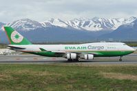 B-16462 @ PANC - Eva Air Boeing 747-400