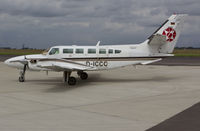 D-ICCC @ EGSH - Arriving at SaxonAir. - by Matt Varley