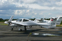 HB-SDM @ EGLK - Parked visiting for Farnborough 2012 - by OldOlympic