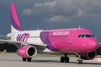HA-LPD @ LHBP - Wizz Airbus 320