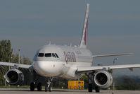 A7-AHU @ LHBP - Qatar Airways Airbus 320