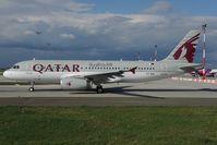 A7-AHU @ LHBP - Qatar Airbus 320