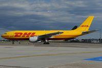 EI-DHL @ LHBP - DHL AIrbus A300
