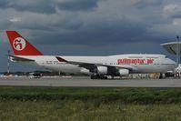 EC-KXN @ LHBP - Pulmantur Air Boeing 747-400