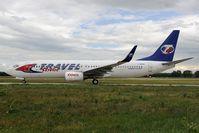 C-GRKB @ LHBP - Travel Service Boeing 737-800
