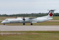 C-GGOK @ CYYG - Air Canada Express DHC 8-400 - by Andy Graf-VAP