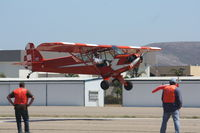 N58920 @ KLPC - Lompoc Piper Cub fly in 2012 - by Nick Taylor