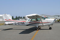 C-GTQQ @ CLM - Visitor from across the Straits of Juan de Fuca - by Duncan Kirk
